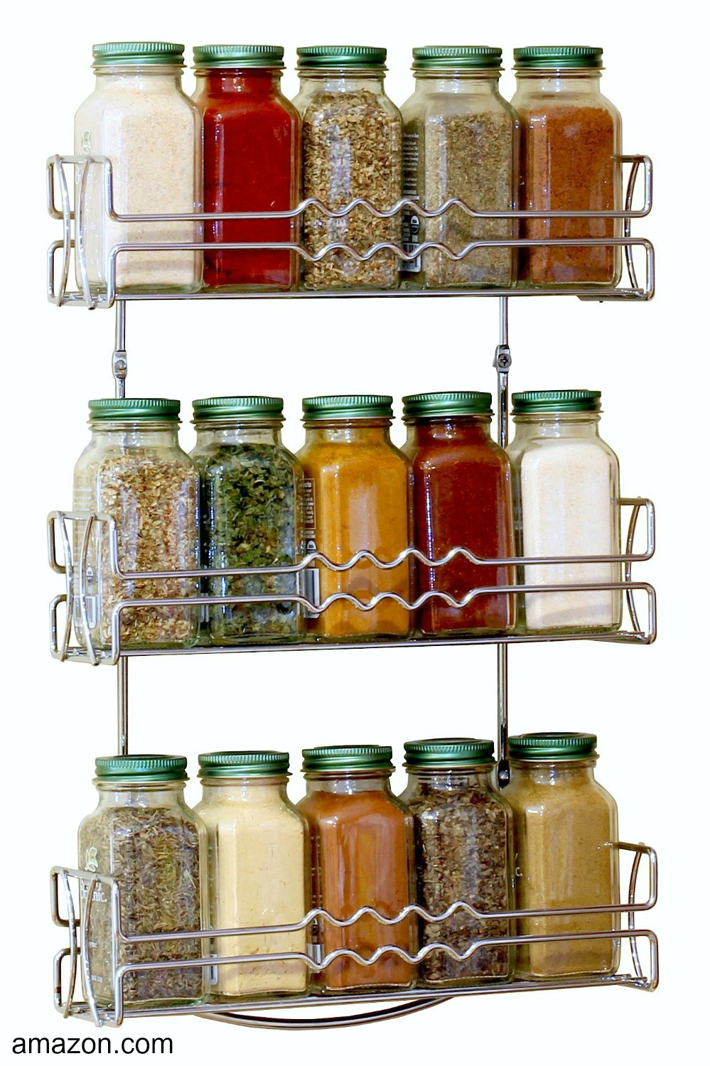 wall mount spice rack
