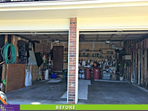 Garage Makeover Before