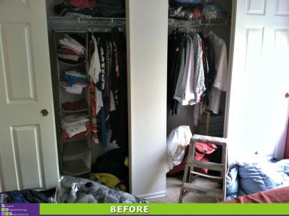 Closet Hang Up Before