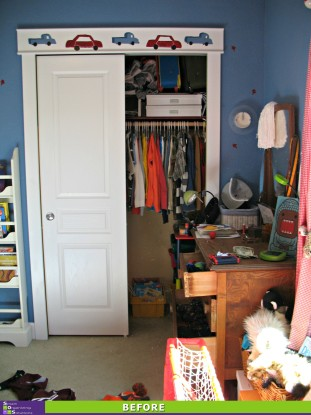 Kid Clutter Cleared Before