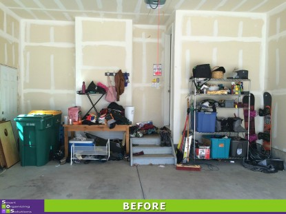 Tidy Garage Before