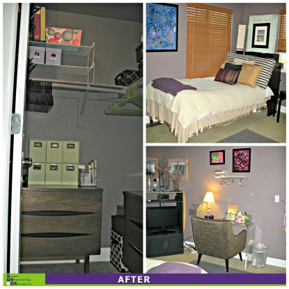 Guest Room Transformed, Guest Closet After