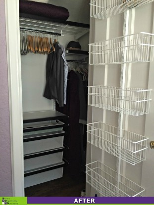 3 Closets in 1 Day, Guest Closet After