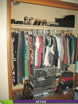 Closet Chaos After