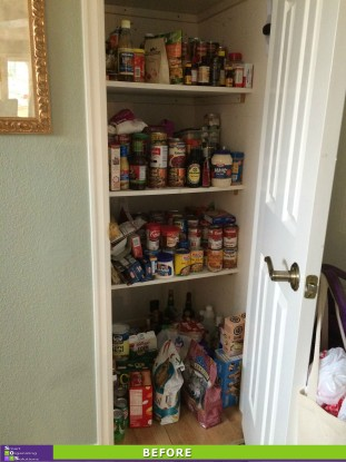 Pretty Pantry Before