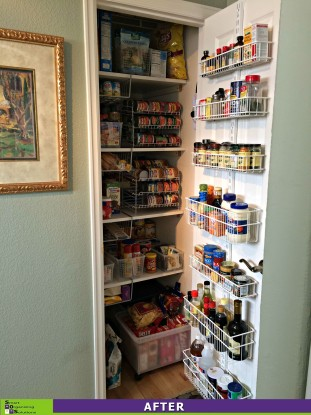 Pretty Pantry After