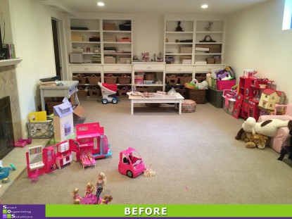 Playroom Perfection Before