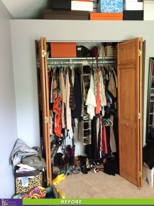 Dream Dressing Room Before