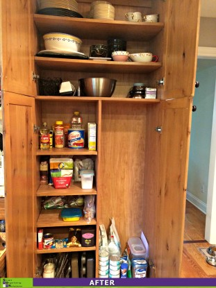 Organized Pantry After