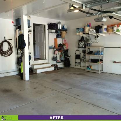 A Garage Put In Order After