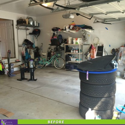 A Garage Put In Order Before