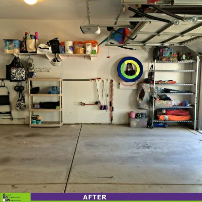 A Garage Put In Order After