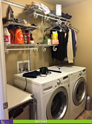 Laundry and Linens Before
