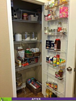 Pantry Clean Out After