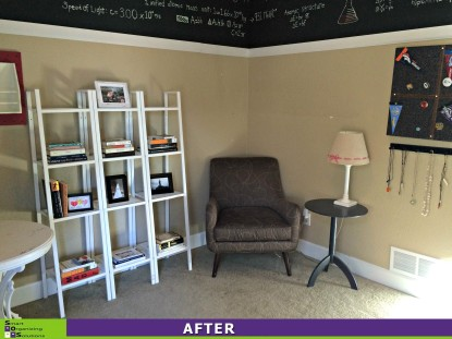 Spare Room Overhaul After