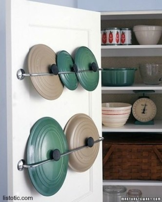 Clever Lid Storage