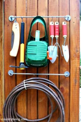 tool shed towel bar