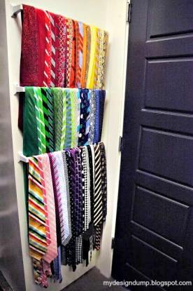 Towel bar ties