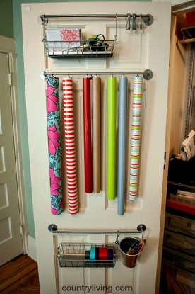 towel bar wrapping station