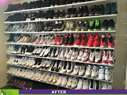 Shoe Wall After
