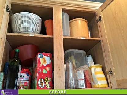 Kitchen Spring Spruce Up Before