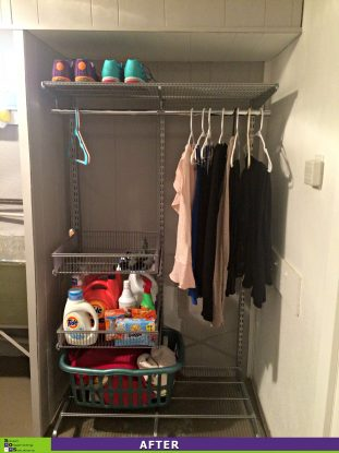Laundry Room Revamp After