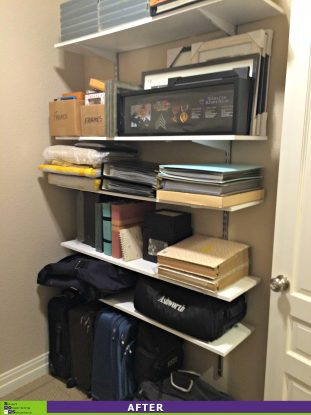 Picture Perfect Closet After