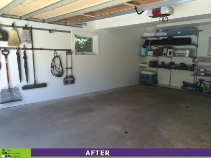 Storage Solutions for a Small Garage Left Side After