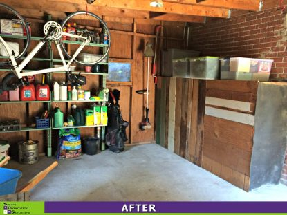 Shed Clean Up After