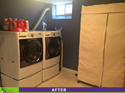 Over Loaded Laundry Room After