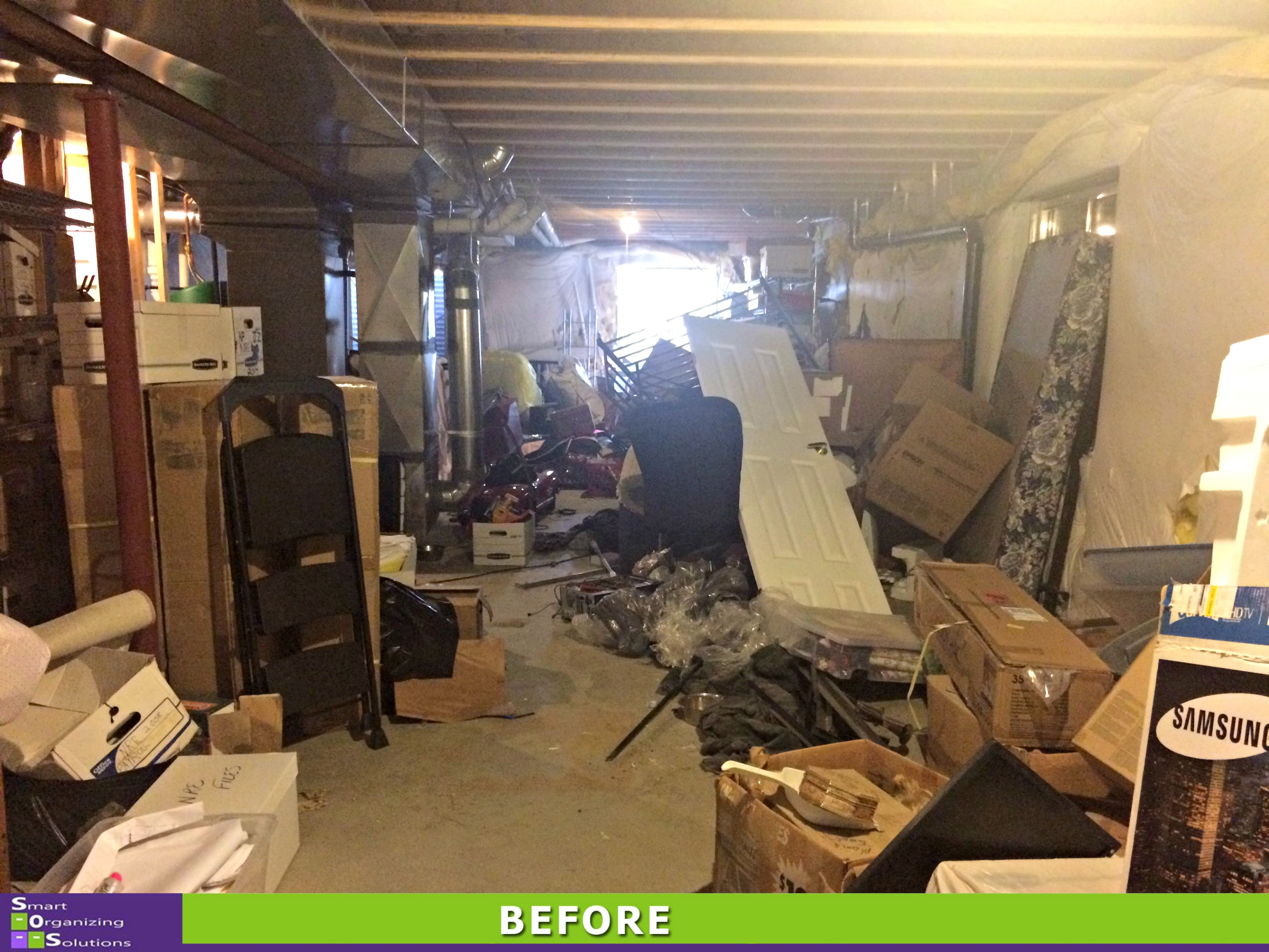 The Big Basement Clean Out Sos Smart Organizing Solutions
