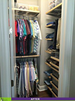 Closet Re-Design After