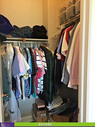 Closet Re-Design Before