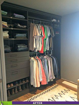 Custom Closet After