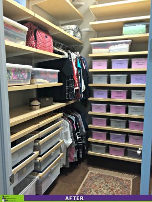 SOS Revamps a Closet After