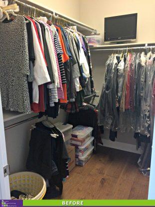 SOS Revamps a Closet Before