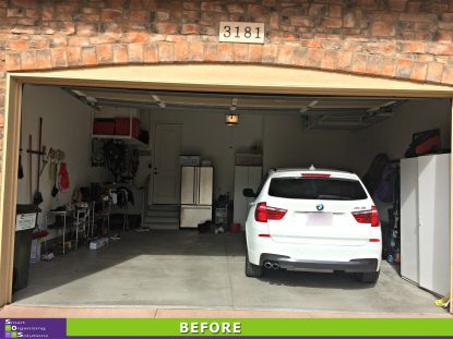 Garage Re-Design Before