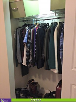 Maximizing a Small Closet Before
