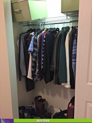 Maximizing a Small Closet Before
