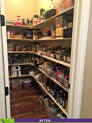 A More Organized Pantry After