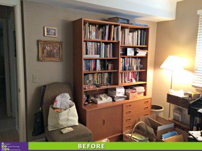 A Spare Room Transformed Into A Master Closet Before