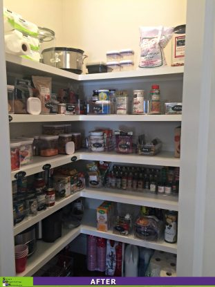Picture Perfect Pantry After