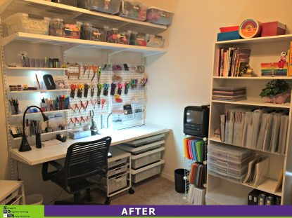 SOS Creates a Craft Room After