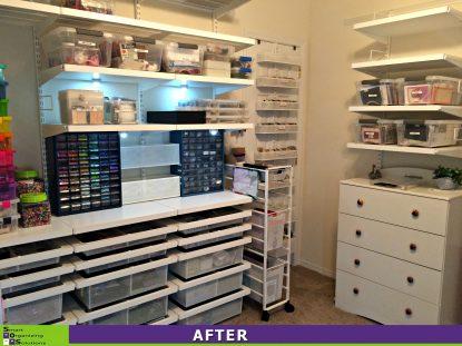 SOS Creates a Craft Room After