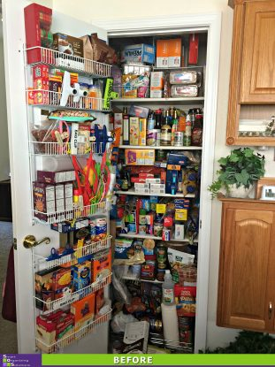 The Big Pantry Purge Before