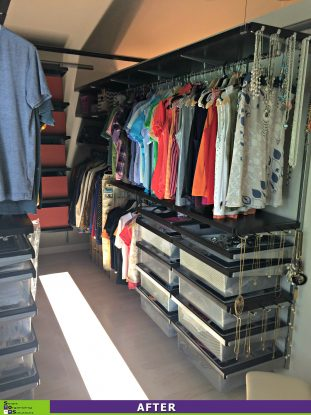 Hidden Closet After