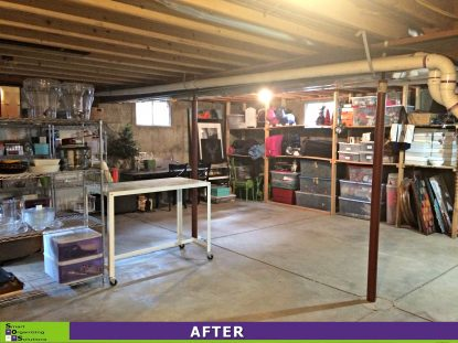 Basement Clean Out After