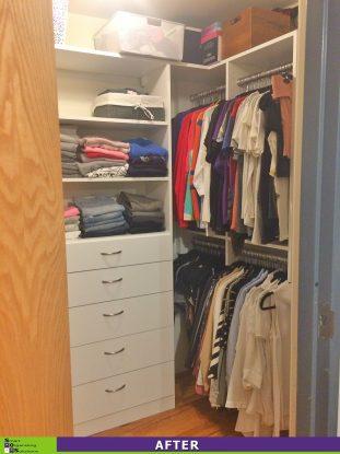 Crammed Closet After