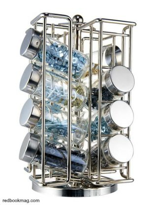 Spice rack for nuts and bolts