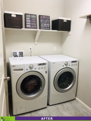 A Little Laundry Room Love After
